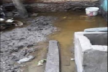 قرية كفر المحمودية بههيا تشتكي توقف العمل بمشروع الصرف الصحي