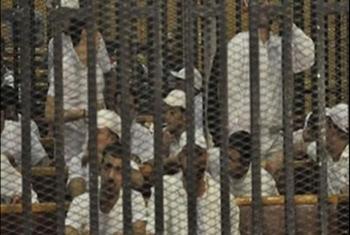 أحكام ظالمة بالسجن 6 شهور بحق 10 معتقلين بكفر صقر