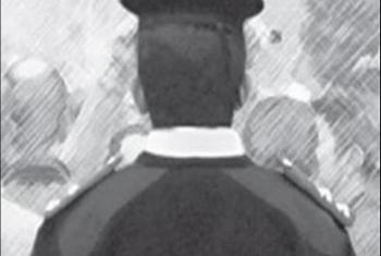أمين شرطة فوق القانون بصان الحجر.. يتلقى الرشاوى ويعتدي على المارة