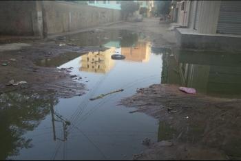 مطالب بالتدخل لحل أزمة الصرف الصحي بشوارع