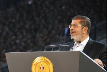 شاهد.. تهديدات الرئيس مرسي للاحتلال خلال العدوان على غزة