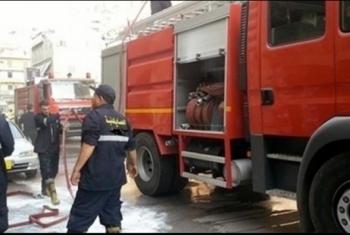 حريق يلتهم شقة سكنية بالعاشر من رمضان