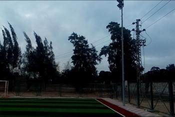 أهالي قهبونة بالحسينية يطالبون بإنشاء مبنى صالات رياضية