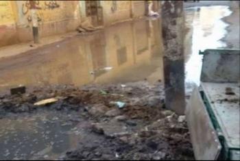 شكوى من الصرف الصحي في كفر أبوحطب بههيا