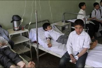 إصابة أكثر من 25 طالب بالصالحية الجديدة بتسمم صدرى (فيديو)