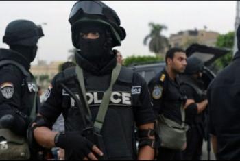 اعتقال أحد رافضي الانقلاب بههيا