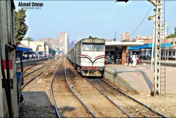 مصرع مواطن أسفل عجلات القطار في أبوحماد