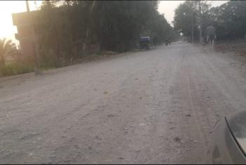 غضب في كفر صقر جرّاء تهالك الطريق العام