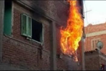 أبوكبير.. نشوب حريق في منزل بقرية نزلة العرين