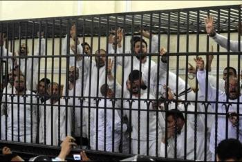 إجرام العسكر..اعتداء وتغريب المعتقلين بسجن المنصورة العمومي