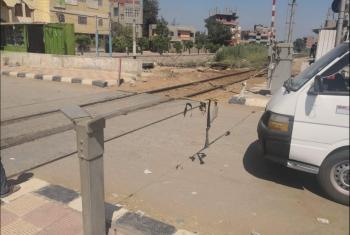 أهالي كفر صقر يطالبون بإحلال وتجديد مزلقان السكة الحديد المتهالك