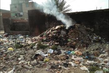 أبوحماد| أهالي مساكن طابا يستغيثون من انتشار الأمراض بسبب