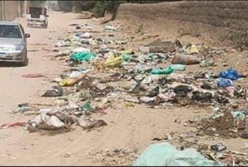 أهالي ميت ربيعة البيضاء في بلبيس يشكون انتشار القمامة