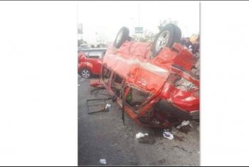 مصرع وإصابة مواطنين في حادث على طريق ديرب الزقازيق