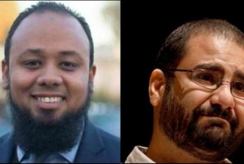 إحالة علاء عبد الفتاح والباقر إلى محكمة الطوارئ