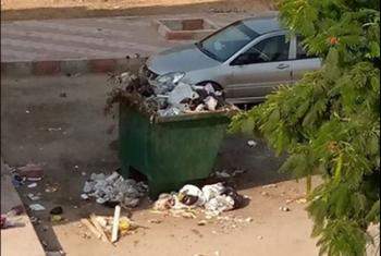 أهالي أبوحماد يطالبون بزيادة صناديق جمع القمامة