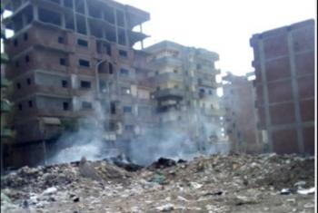 دخان القمامة يثير غضب أهالي قرية المشاعلة بأبوكبير