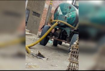 مطالب بإدخال الصرف الصحي لعزبة أبوزيد في فاقوس