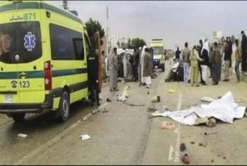 أولاد صقر  مصرع طالب في حادث تصادم أمام قرية منشية ناصر