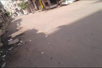 بلبيس  أهالى شبرا النخلة يطالبون بمطب صناعي للحد من الحوادث
