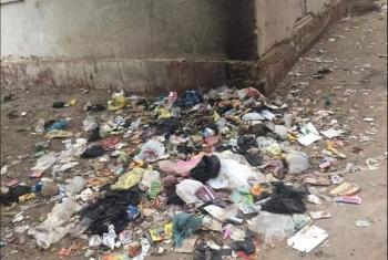 القمامة في قرية سنجها.. أزمة تتسبب في مشاكل صحية للأهالي
