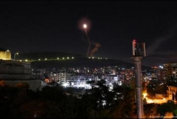 طائرات الكيان الصهيوني تقصف موقعا لحماس في غزة