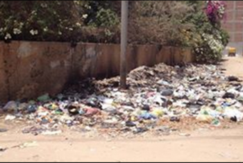 قرية الصنافين بمنيا القمح تعاني من الصرف الصحي والقمامة