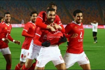الأهلي يحلق منفردًا في صدارة الدوري بعد الفوز على المقاولون بهدفين