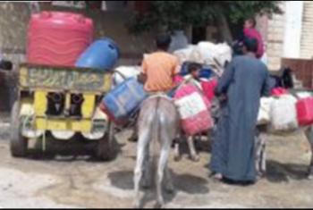 أهالي طويحر بأبوحماد يشكون من انقطاع مياه الشرب
