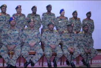 البرهان: لا نطمع في السلطة مثل جيش مصر
