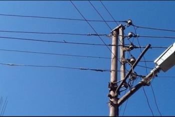 تهالك أعمدة الكهرباء في منشأة أبوعمر