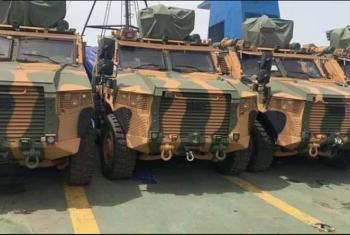 تركيا ترسل معدات عسكرية لحكومة الوفاق الليبية الشرعية