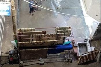 أهالي شارع التيار العالي بديرب نجم: ورش ومغسلة أفقدتنا طعم الراحة