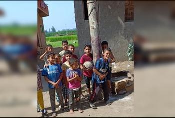 عمود إنارة ينذر بكارثة ضد الأهالي في قرية