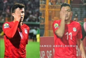 لاعبان من منتخب مصر الأوليمبي يتضامنان مع معاذ عمارنة