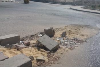 شكاوى لأهالي أبوكبير من سوء الخدمات وانهيار الطرق الداخلية للمدينة