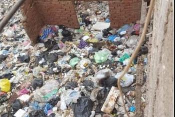 تراكم القمامة أمام منازل المواطنين في أولاد صقر يثير غضب الأهالي