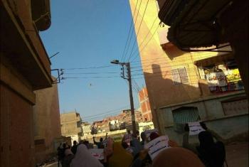 أحرار كفرالدوار يتظاهرون في مستهلّ أسبوع