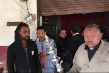 غلق وتشميع 5 مقاهي ومصادرة 28 شيشة بأبوحماد