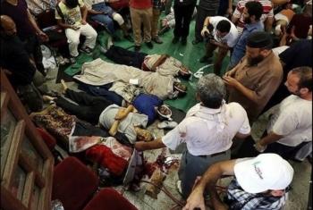 خليفة وتوفيق والشبراوي شهداء الشرقية بمذبحة الحرس الجمهوري