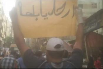 لليوم السابع على التوالي.. الهتافات تدوي في محافظات مصر
