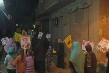 بالصور.. مسيرة ليلية لثوار العدوة ضمن أسبوع