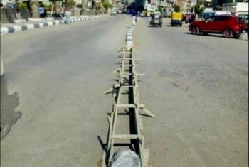 غضب في مدينة أبوحماد بعد إغلاق محور