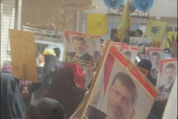 ثوار العدوة يطالبون بالتوحد ضد جرائم الانقلاب العسكري