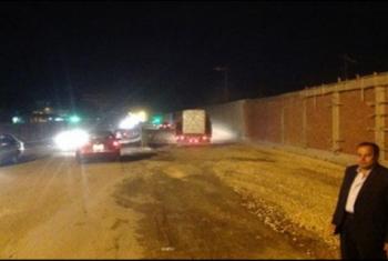 منيا القمح| مطالبات بإنشاء 4 مطبات على طريق شلشلمون لوقف الحوادث