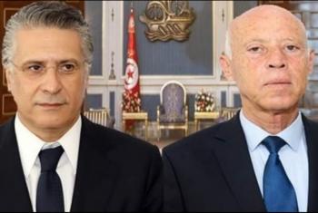 جولة إعادة بين قيس السعيد ونبيل القروي في الانتخابات الرئاسية التونسية