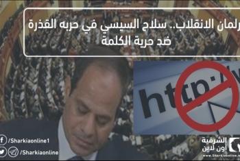 برلمان الانقلاب.. سلاح السيسي في حربه القذرة ضد