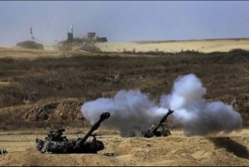 إصابة فلسطيني في قصف مدفعي صهيوني شرق غزة