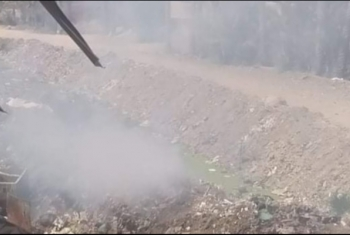 استغاثات من أدخنة حرق القمامة بالقرين