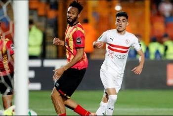 الزمالك يهزم الترجّي التونسي 3-1 في ذهاب ربع النهائي